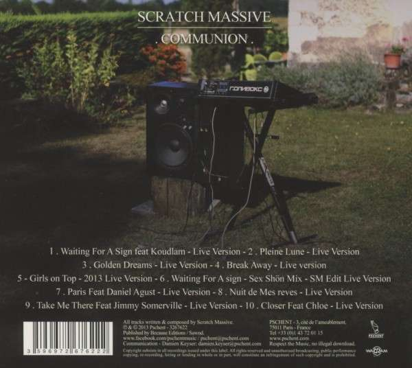 Scratch Massive feat JS Live back
